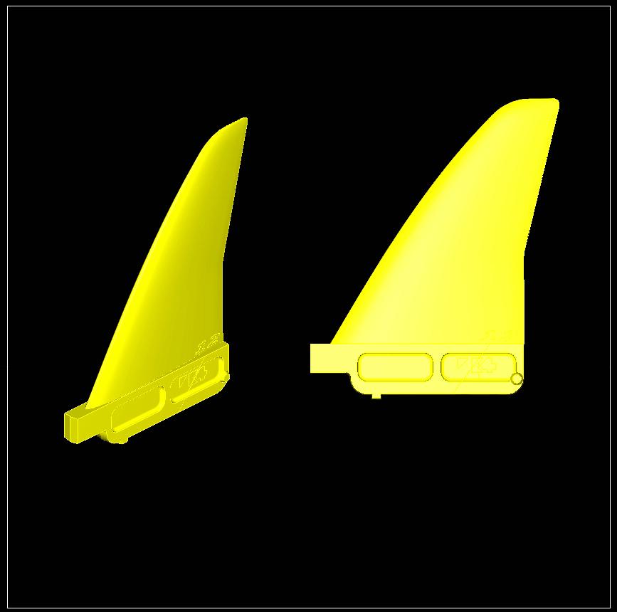 front rocket CAD