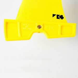 K4 Fins Bubble signature fin power box head.