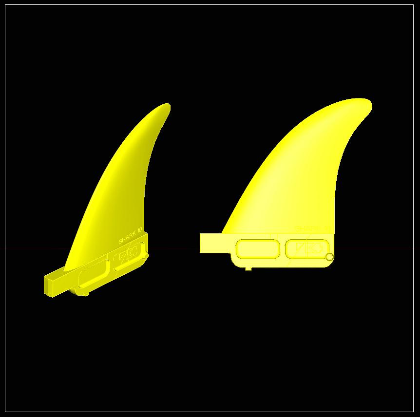 shark front CAD