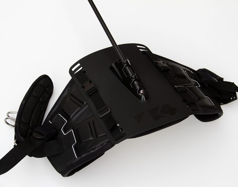 k4 harness mount back plate flat