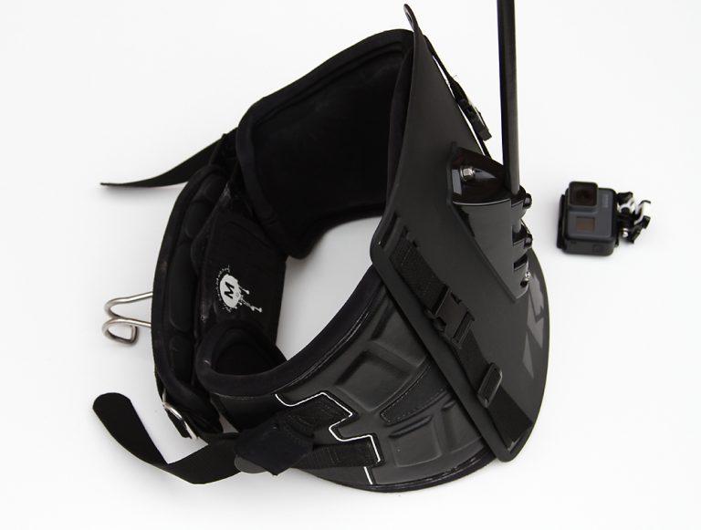 k4 harness mount back plate left