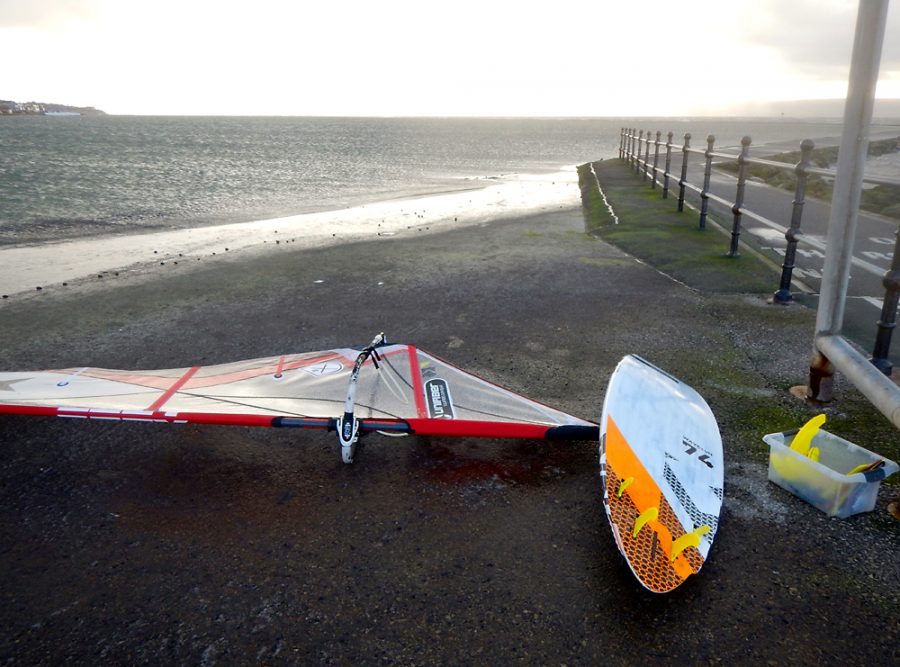 West Kirby Quad fin set up