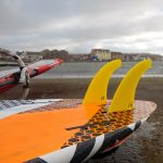 West Kirby Twin fin set up