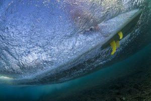 K4 fins underwater 12
