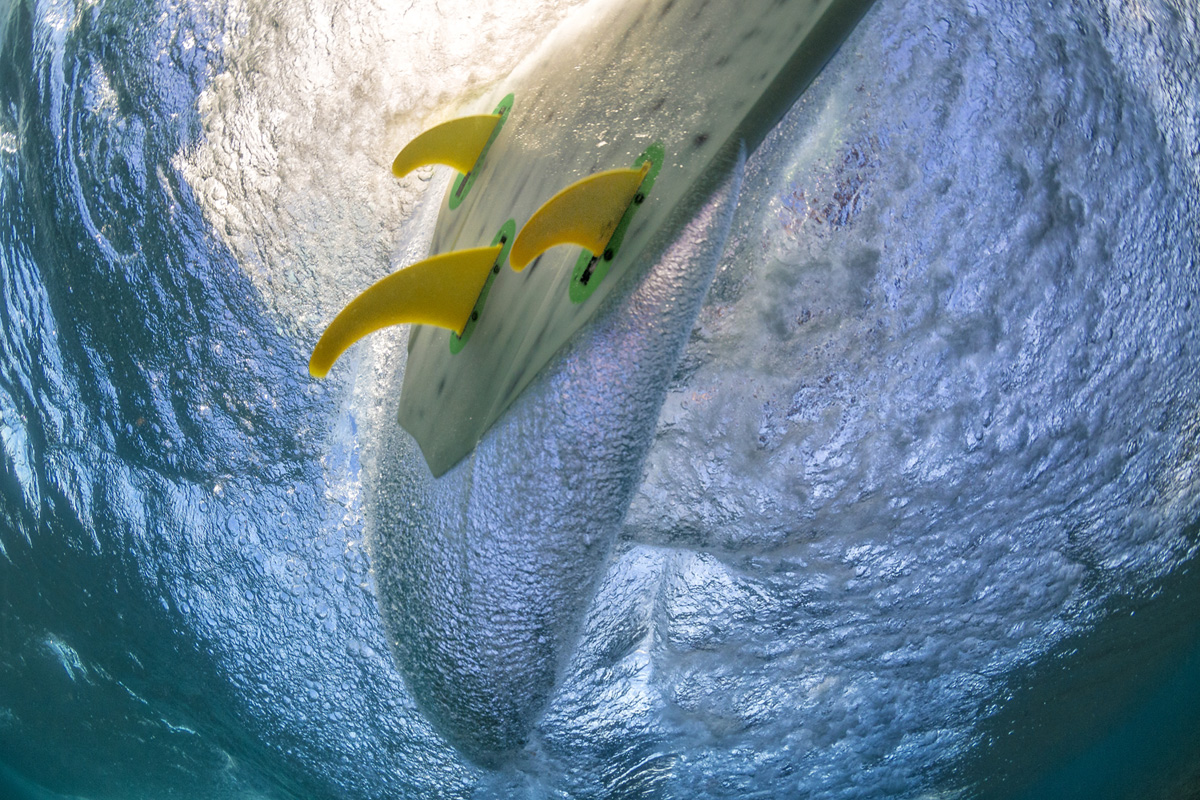 K4 fins underwater 2 by Si Crowther
